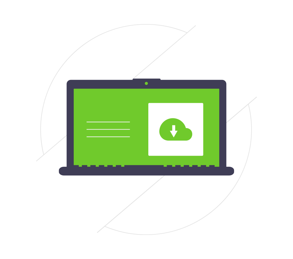 install cloud files icon