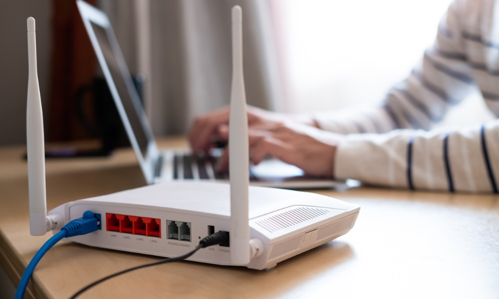 A network administrator chooses between WPA and WPA2 when configuring a router.